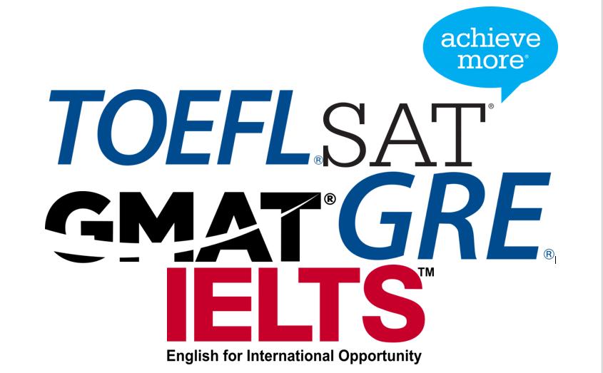 Clase de Toefl, SAT, GRE